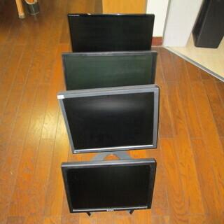 ジャンク品 の パソコンモニター4台差し上げます。