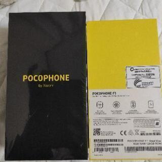 Xiaomi poco Pocophone F1 ブルー 128GB DSDS - 売ります・あげます