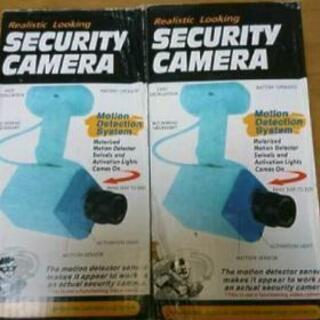 〈値下げ中!〉防犯カメラ ダミー 未使用 2台セット