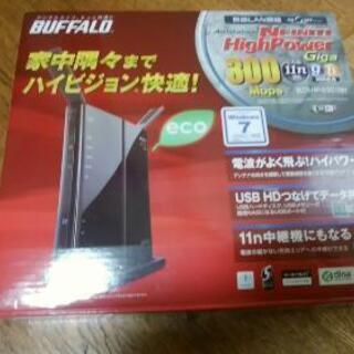 buffalo   WZR-HP-G301NH 親機