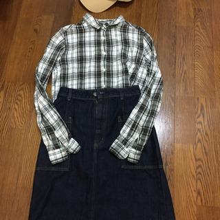 チェックシャツ*エヘカソポ Mサイズ