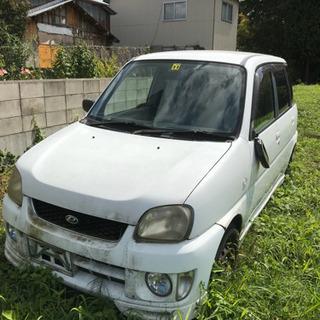 プレオ 4WD スーパーチャージャー  部品取車