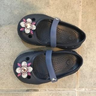 14-14.5cm子供靴 クロックスサンダル