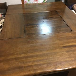 テーブル カリモク