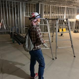 建設業での内装業のお仕事です。