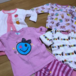 女児パジャマ4点セット