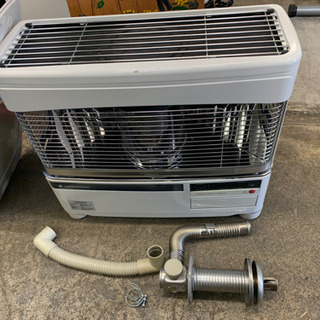 分解掃除済みCORONA◎コロナ 床暖房機能搭載FF式石油ストー...
