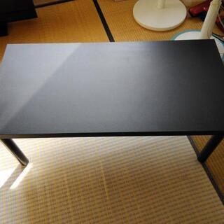 黒いローテーブル 700円