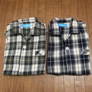 メンズ 長袖パジャマ Lサイズ 2枚セット