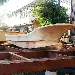 特大漁船のハル