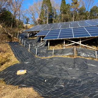 急募👷🏾太陽光パネル設置