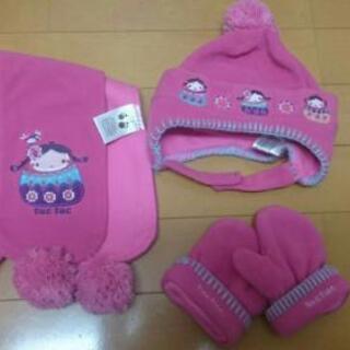 【1歳~】tuctucスペイン  帽子マフラー手袋セット