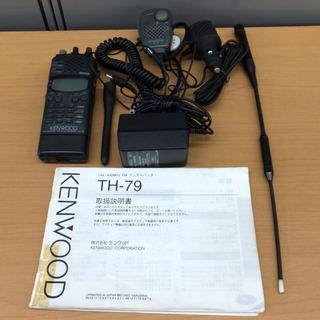 無線機 トランシーバー ハンディ KENWOOD ケンウッド T...