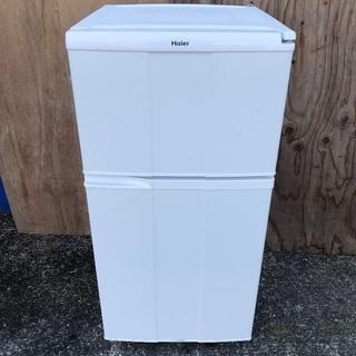 【配送無料】一人暮らし用冷蔵庫 98L Haier JR-N100C