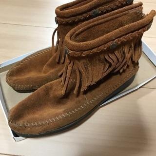 ブーツ ミネトンカ 靴 ショートブーツ おしゃれブーツ