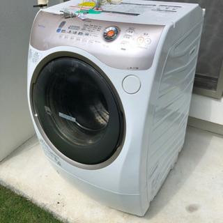 TOSHIBA 東芝 TW-Q820L ドラム式 洗濯機 9kg 大型
