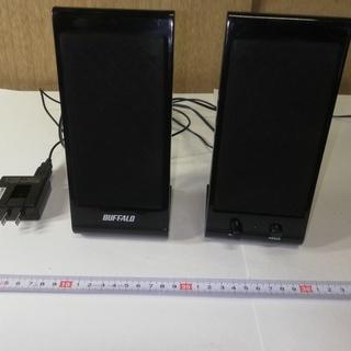 BUFFALO 3.5mmステレオミニプラグ接続スピーカー...