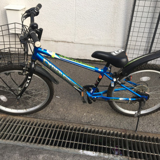 22インチ子供用自転車(マウンテンバイク)6段変速