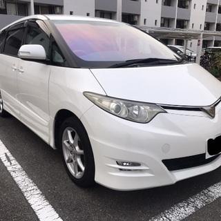 トヨタ エスティマ アエラスGエディション パールホワイト  フル装備 - 茨木市