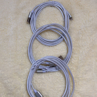 新品未使用 iPhone充電ケーブル 2m 3本セット