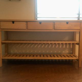 IKEA NORDEN シリーズのカウンターテーブル