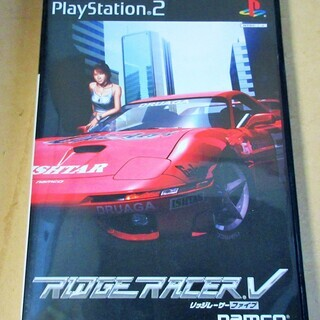 ☆PS2/RIGERACER V リッジレーサーファイブ◆リッジ...