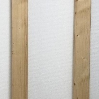 2×4(ツーバイフォー)木材2本