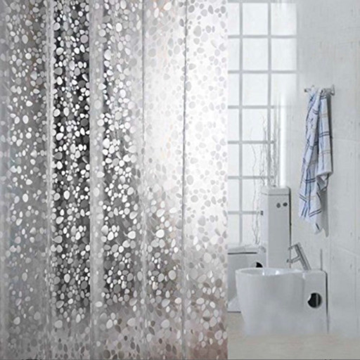 シャワー カーテン 透明