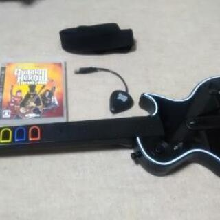 ps3 ギターヒーロー ソフト付き