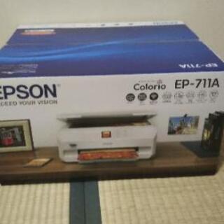 新品未開封!エプソン Colorio EP-711A