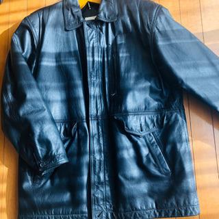 ジャケット冬用 牛皮 Lサイズ