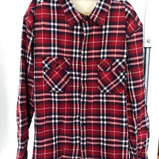 内ボアのチェックシャツ