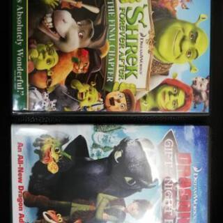 アメリカで買った英語DVD 二枚