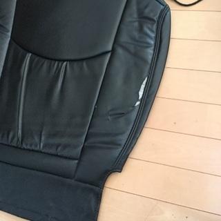 合皮のシートカバー
