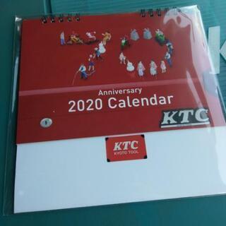 KTC 2020年 70周年anniversary 卓上カレンダ...