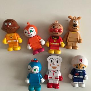 アンパンマンブロックラボの人形トレード