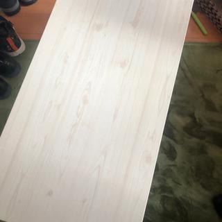 DCMホーマック 木目鏡面テーブル