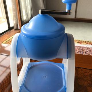 手動式かき氷器