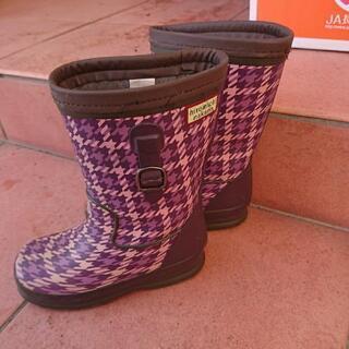 【無料】冬長靴 19センチ