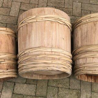 味噌樽 木製 中古 アンティーク レトロ