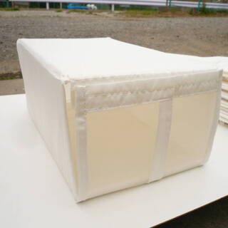 収納ボックス 折りたたみ 表面メッシュ 8個セット