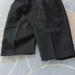 【男の子 110cm】冠婚葬祭 黒ズボン