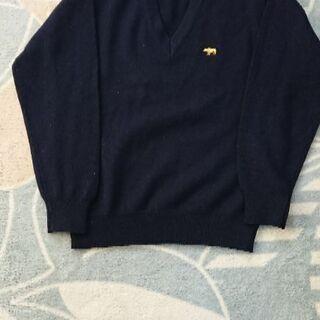 【男の子 130cm】紺セーター
