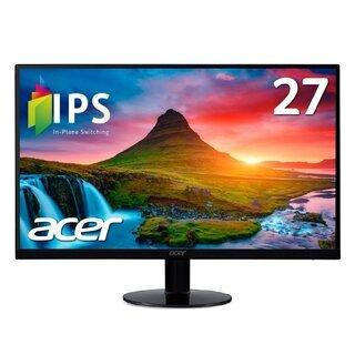 モニター Acer  SA270Abmi 27型ワイド液晶ディス...
