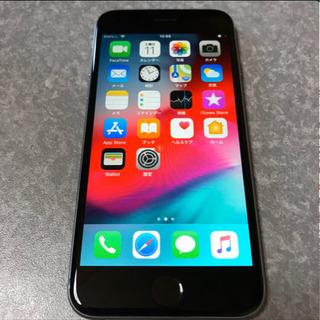 取引中 iPhone6 au 64G スペースグレイ 本体のみ