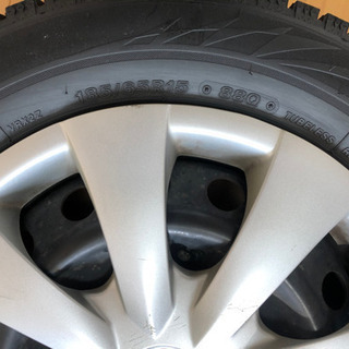 スタッドレスタイヤ 185/65R15 ブリジストン 使用2週間...