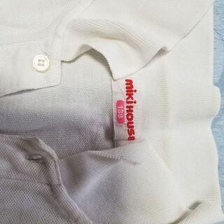 ミキハウスの半袖ポロシャツ