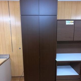 【リサイクルサービス八光 田上店  配達・設置OK】靴棚 ブラウン