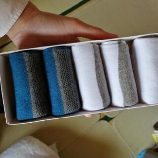 【新品未使用】5本指靴下5足 ソックス メンズ
