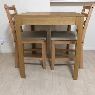 【美品】IKEA  EKEDALEN ダイニングテーブル&椅子2...